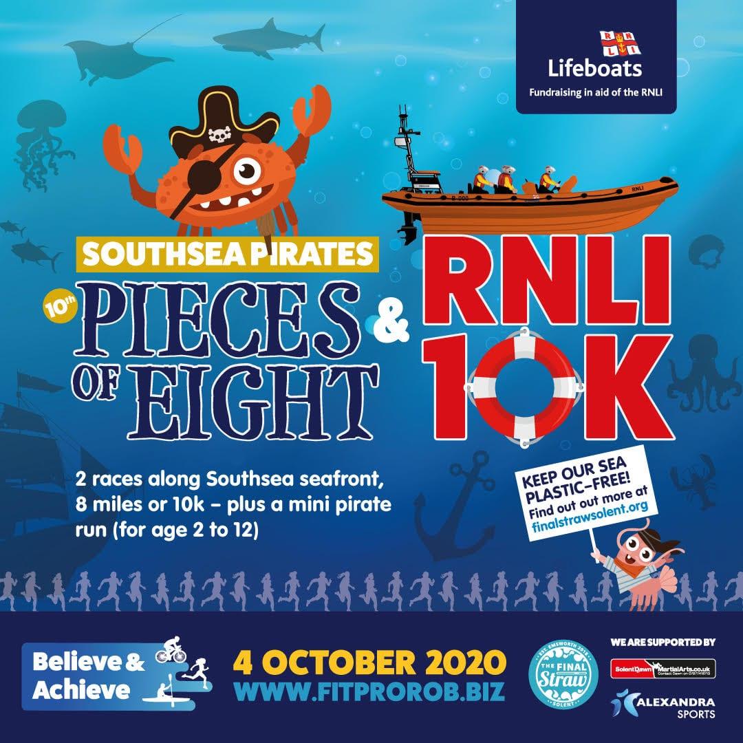 RNLI 10K Pieces of Eight